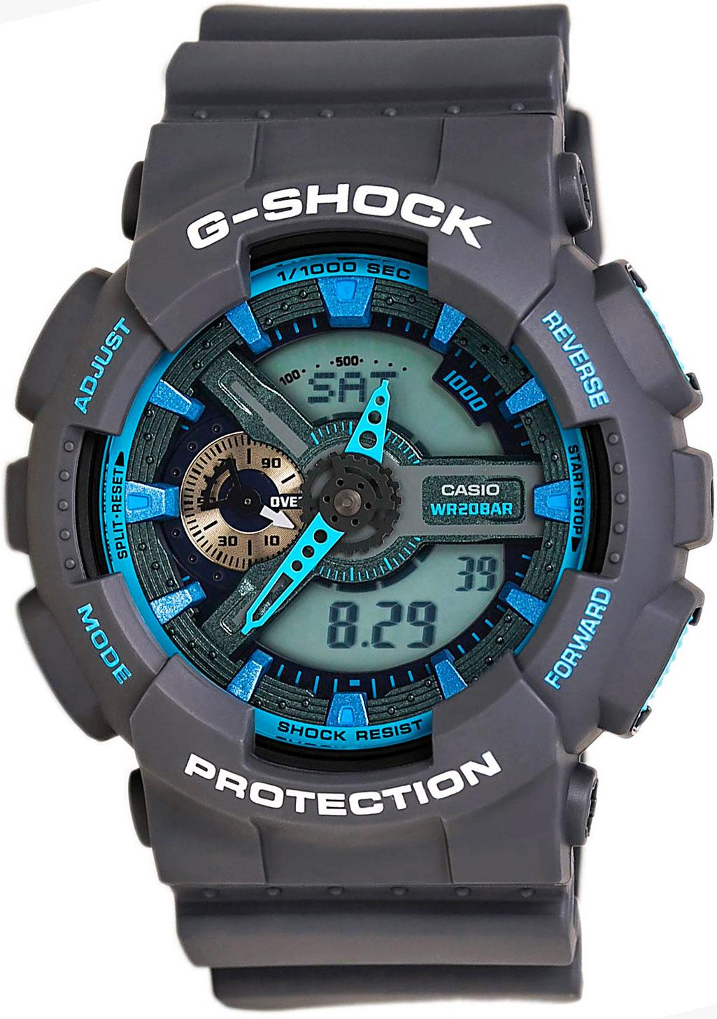 все цены на  Мужские часы Casio GA-110TS-8A2  онлайн