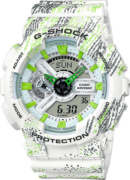 Мужские часы Casio GA-110TX-7A casio ga 201tr 7a
