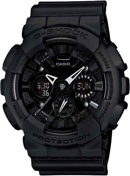 �������� ����������� ���� � ����������� � ������������ ���������� Casio G-SHOCK GA-120BB-1A