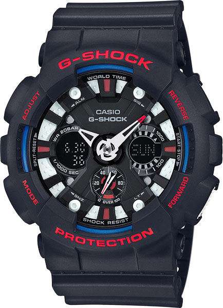 Мужские часы Casio GA-120TR-1A мужские часы casio ga 100by 1a