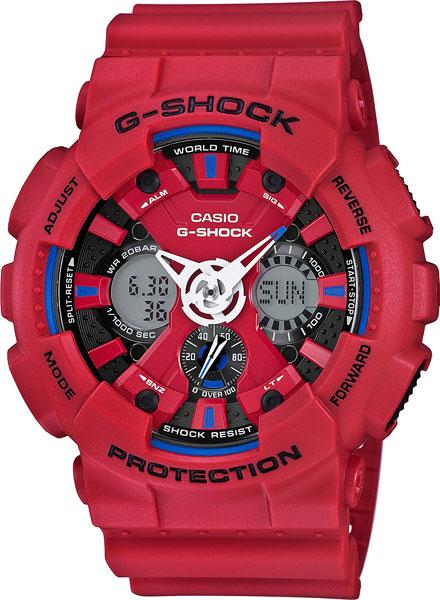 Мужские часы Casio GA-120TR-4A все цены