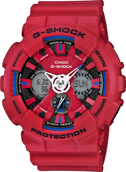Мужские часы Casio GA-120TR-4A