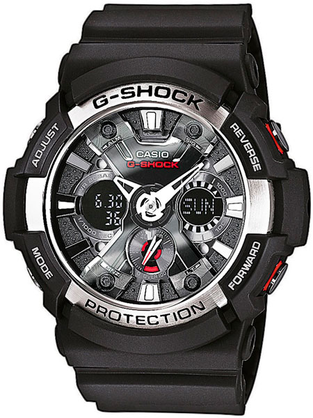 Мужские часы Casio GA-200-1A casio g shock g classic ga 110mb 1a