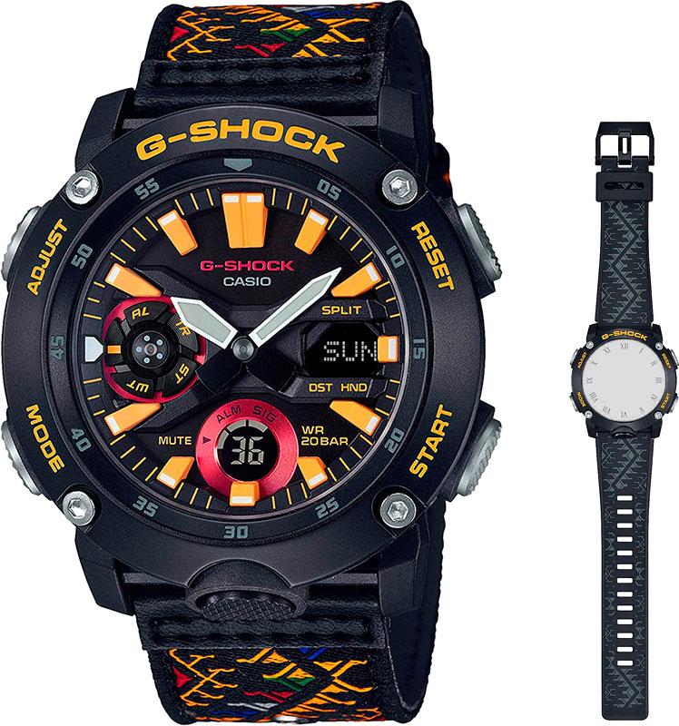 Мужские часы Casio GA-2000BT-1AER