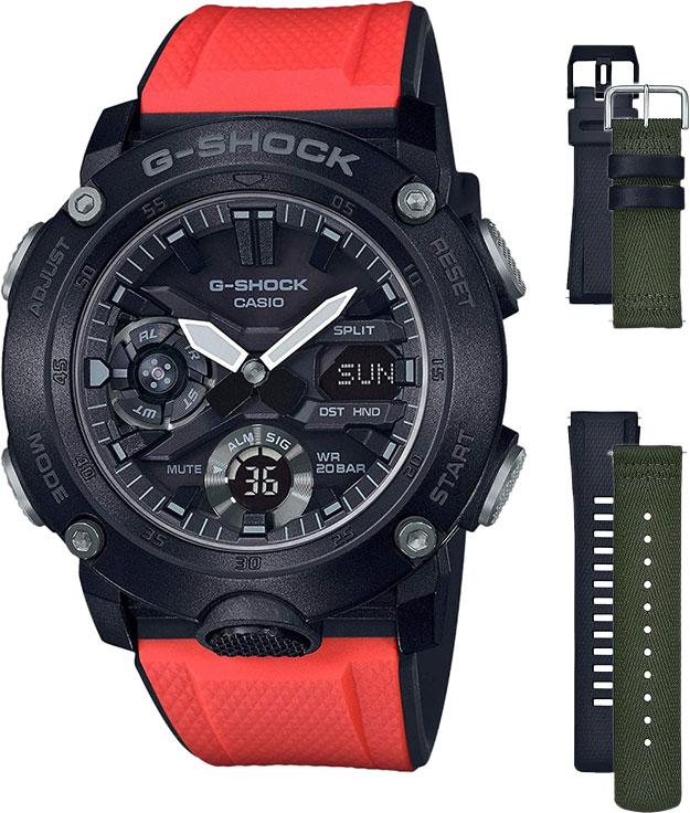 Мужские часы Casio GA-2000E-4ER