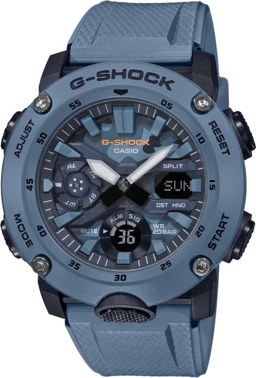 Мужские часы Casio GA-2000SU-2AER