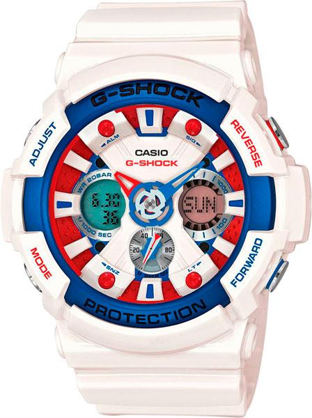 Мужские часы Casio GA-201TR-7A casio g shock g classic ga 110mb 1a