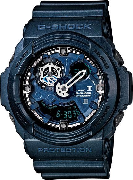 Мужские часы Casio GA-300A-2A casio g shock g classic ga 110mb 1a