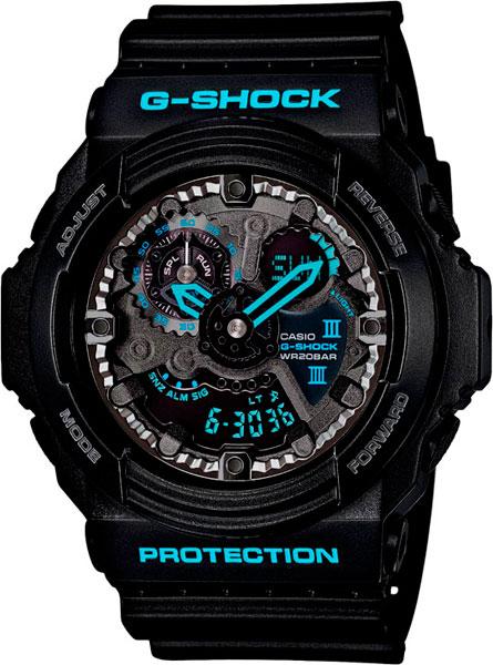 Мужские часы Casio GA-300BA-1A casio g shock g classic ga 110mb 1a