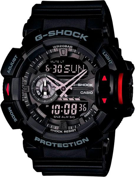 Мужские часы Casio GA-400-1B casio g shock g classic ga 110mb 1a