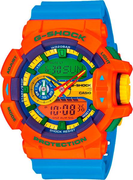 Мужские часы Casio GA-400-4A casio g shock g classic ga 110mb 1a