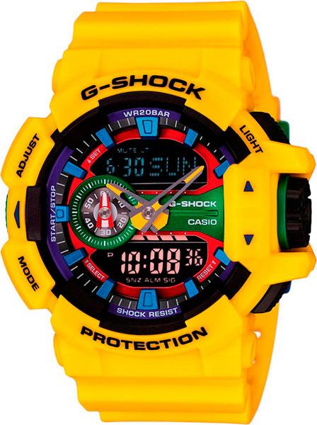 Мужские часы Casio GA-400-9A casio g shock g classic ga 110mb 1a
