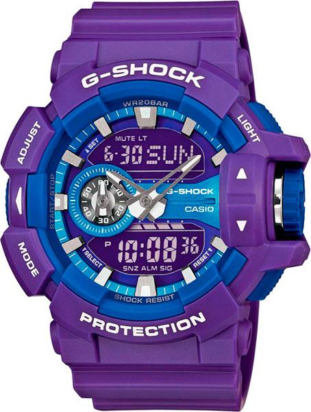купить Мужские часы Casio GA-400A-6A по цене 12290 рублей