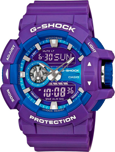 Мужские часы Casio GA-400A-6A casio g shock g classic ga 110dn 6a