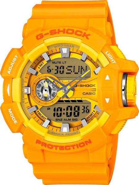 Мужские часы Casio GA-400A-9A casio ga 100a 9a