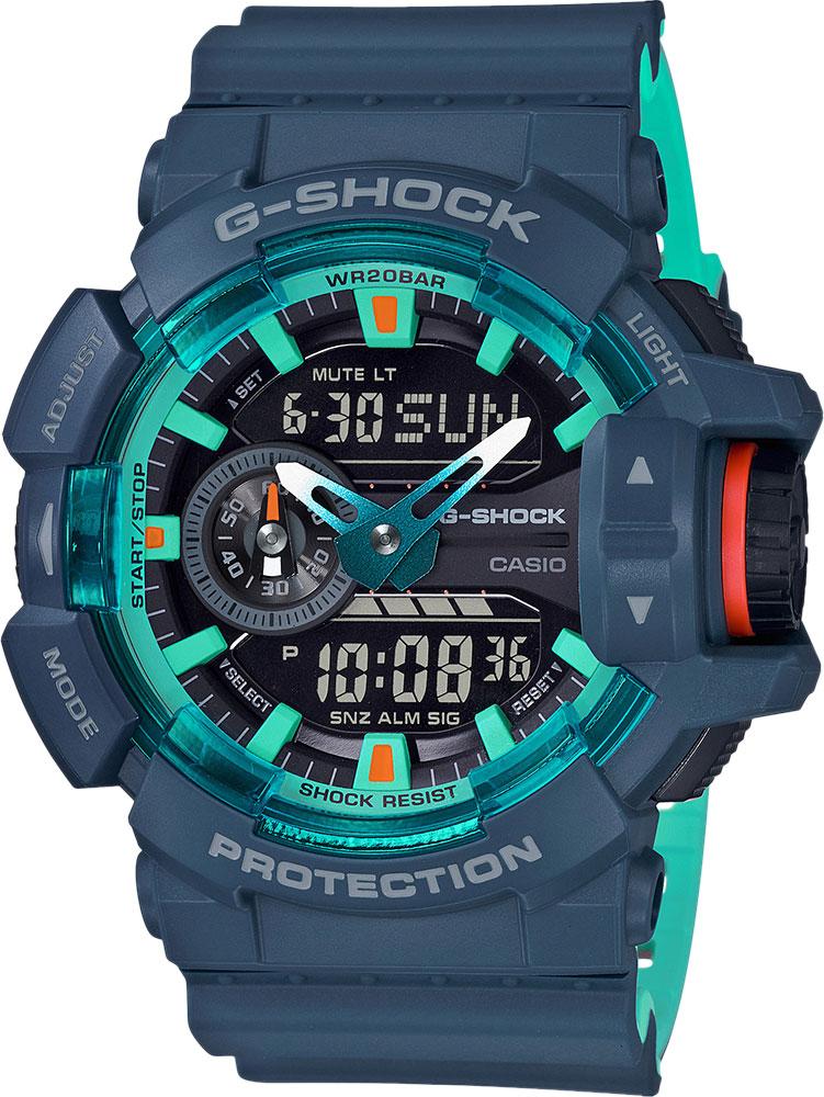 цена Мужские часы Casio GA-400CC-2A онлайн в 2017 году