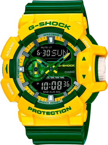 Мужские часы Casio GA-400CS-9A casio g shock g classic ga 110mb 1a