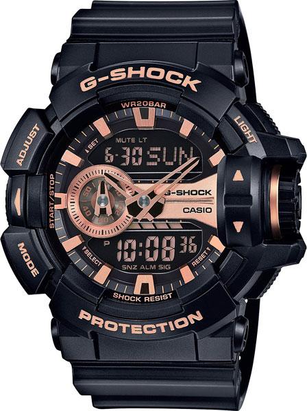 Мужские часы Casio GA-400GB-1A4 casio g shock g classic ga 110mb 1a