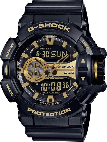 Мужские часы Casio GA-400GB-1A9 casio g shock g classic ga 110mb 1a