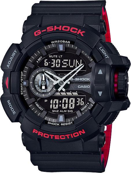 Мужские часы Casio GA-400HR-1A casio ga 110rg 1a