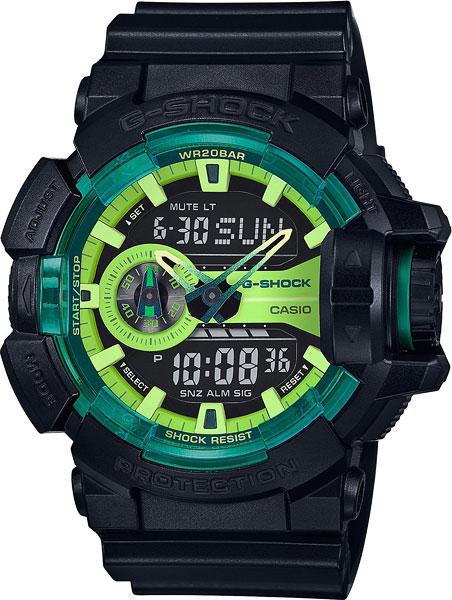 Мужские часы Casio GA-400LY-1A часы casio g shock ga 400 1a 400 7a 1b 2a 4a 9b