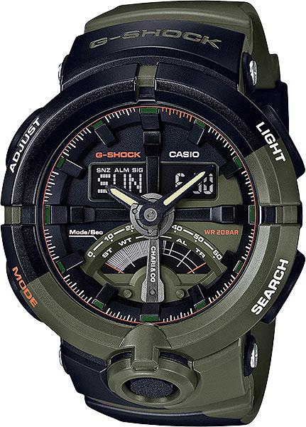 Мужские часы Casio GA-500K-3A casio casio ga 110lp 3a