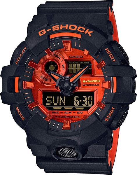 Мужские часы Casio GA-700BR-1A casio ga 110rg 1a