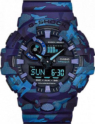 Мужские часы Casio GA-700CM-2A