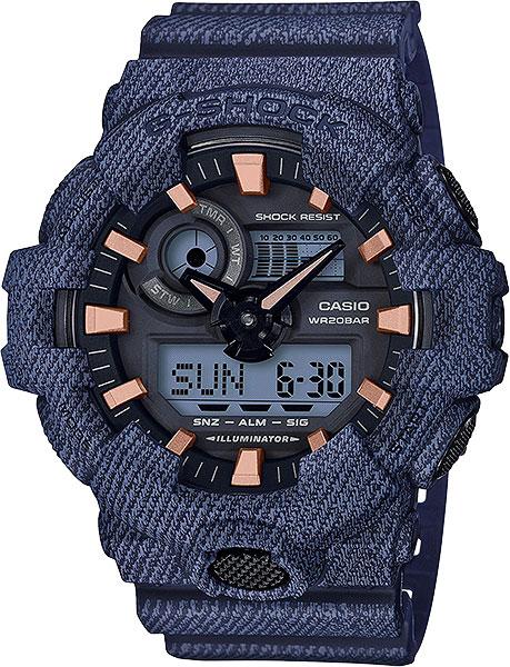 Мужские часы Casio GA-700DE-2A