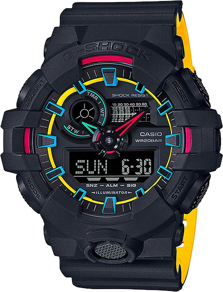 Мужские часы Casio GA-700SE-1A9 casio ga 400gb 1a9