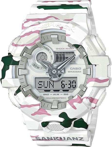 Мужские часы Casio GA-700SKZ-7A casio g shock g classic ga 110mb 1a