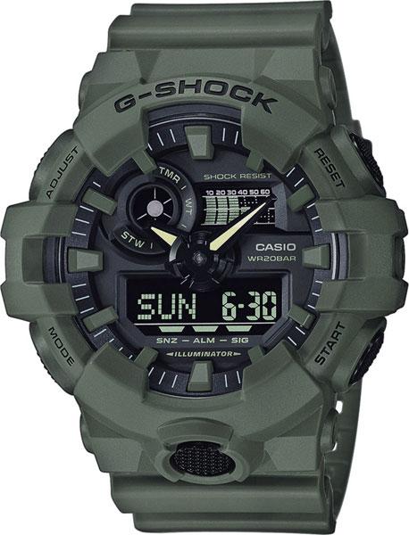 Мужские часы Casio GA-700UC-3A casio casio ga 110lp 3a
