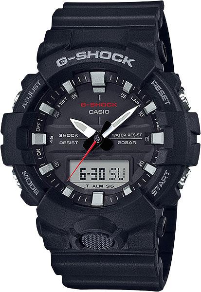 Мужские часы Casio GA-800-1A casio g shock g classic ga 110mb 1a