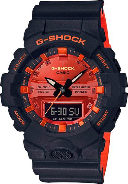 купить Мужские часы Casio GA-800BR-1A по цене 8990 рублей