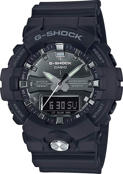 Мужские часы Casio GA-810MMA-1A мужские часы casio ga 100by 1a