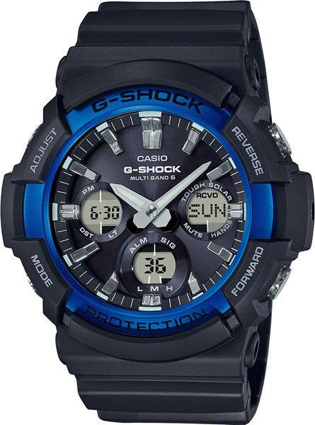 Мужские часы Casio GAW-100B-1A2 мужские часы casio sgw 100b 3a2