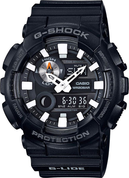 Мужские часы Casio GAX-100B-1A мужские часы casio sgw 100b 3a2