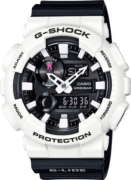 Мужские часы Casio GAX-100B-7A casio sheen multi hand shn 3013d 7a