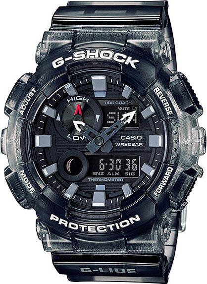 Мужские часы Casio GAX-100MSB-1A плавки мужские lowry цвет черный фиолетовый msb 1 размер l 48