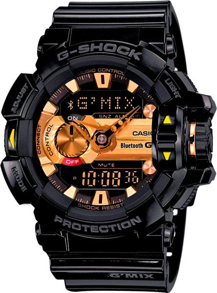 Мужские часы Casio GBA-400-1A9 casio часы casio gba 400 1a9 коллекция g shock