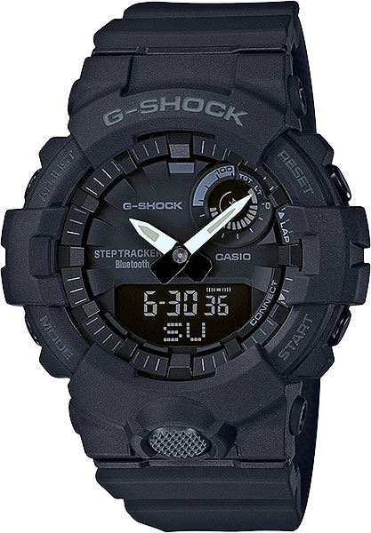 цена Мужские часы Casio GBA-800-1A онлайн в 2017 году