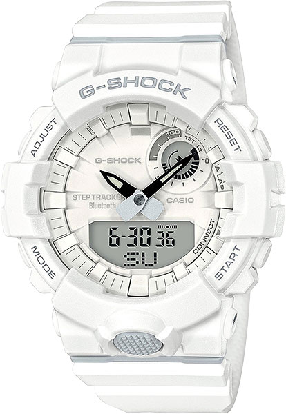 цена Мужские часы Casio GBA-800-7A онлайн в 2017 году