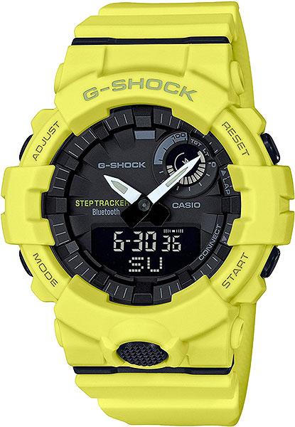 цена Мужские часы Casio GBA-800-9A онлайн в 2017 году
