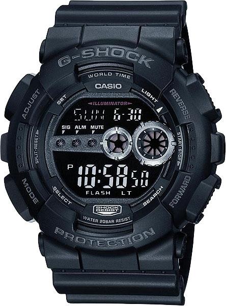 Мужские часы Casio GD-100-1B casio gd 100 1b