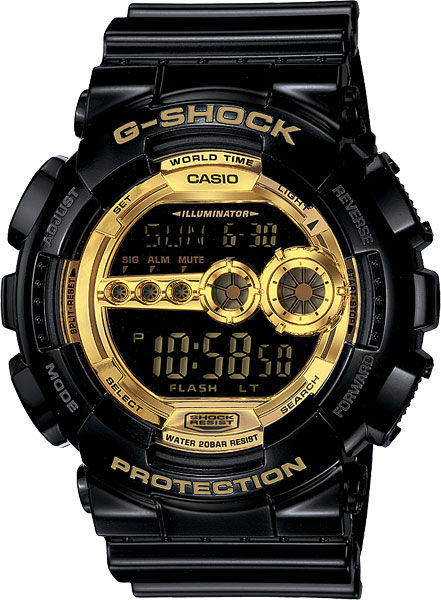 Мужские часы Casio GD-100GB-1E casio gd 100gb 1e