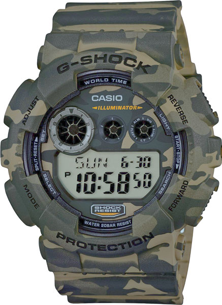 Мужские часы Casio GD-120CM-5E casio casio gd x6900mc 5e