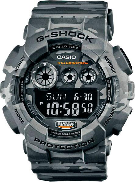 Мужские часы Casio GD-120CM-8E часы наручные casio часы g shock gd 120cm 8e