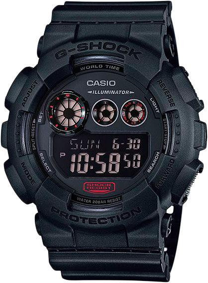 Мужские часы Casio GD-120MB-1E casio gd 100gb 1e
