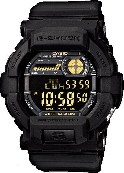 Мужские часы Casio GD-350-1B casio gd 100 1b