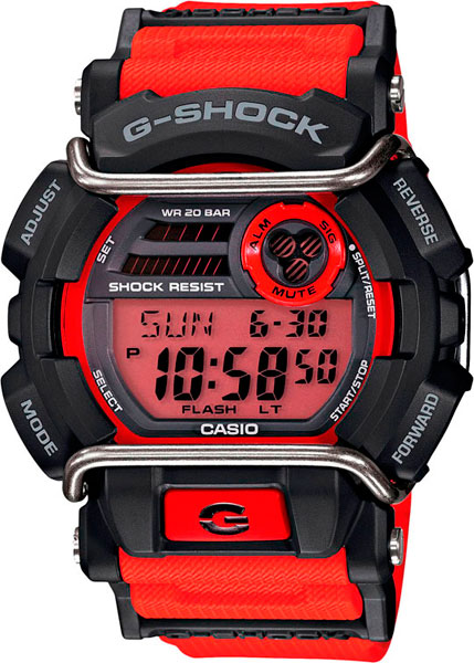 Мужские часы Casio GD-400-4E дополнения к треку carrera ралли